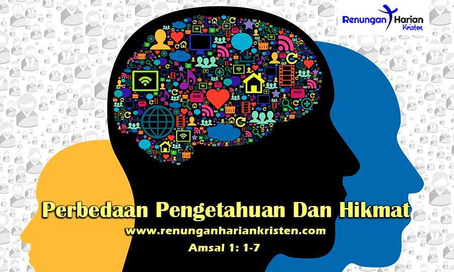 Renungan-Harian-Amsal-1-1-7-Perbedaan-Pengetahuan-Dan-Hikmat