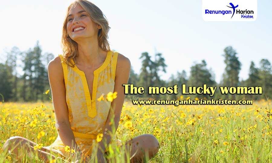 Christian-Sermons-The-most-Lucky-woman