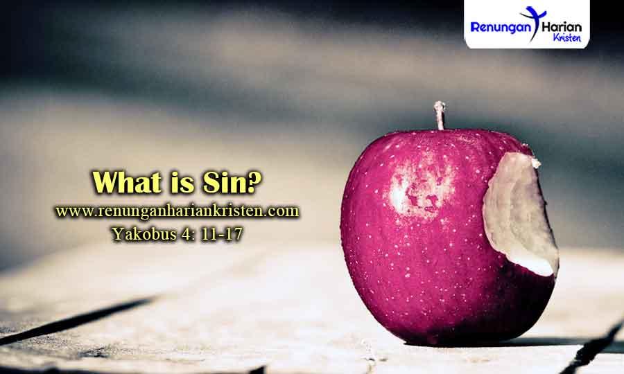 Renungan-Remaja-Yakobus-4-11-17-What-is-Sin