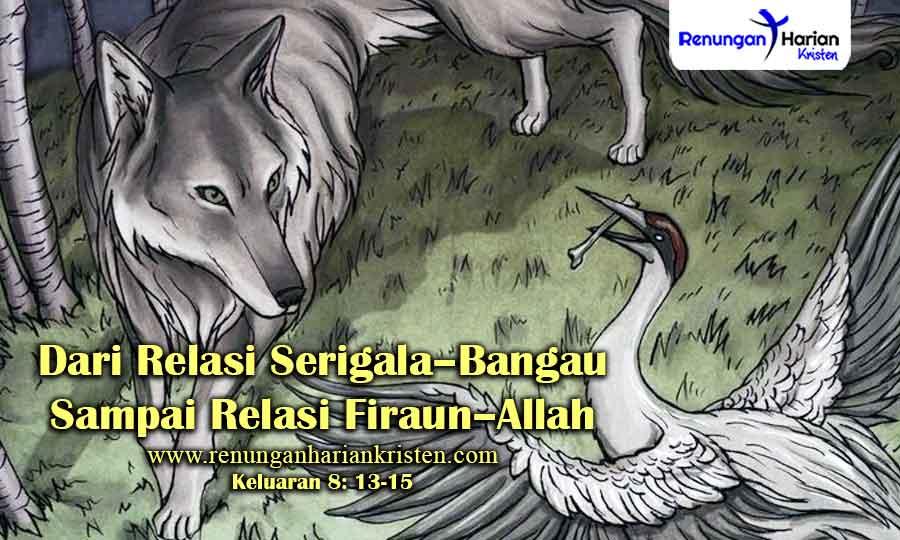 Renungan-Keluaran-8-13-15-Dari-Relasi-Serigala–Bangau-Sampai-Relasi-Firaun–Allah